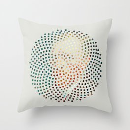 Optical Illusions - Famous Work of Art 4 Throw Pillow