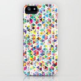 Cuben Colour Craze iPhone Case