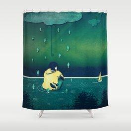 Emotion Sickness Shower Curtain