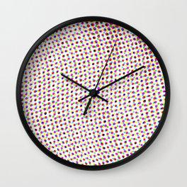 Polka, Polka, Polkadots!!! Wall Clock