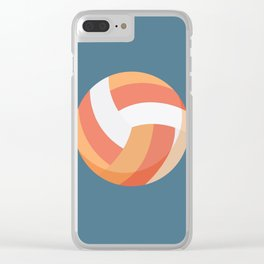 volleyball Clear iPhone Case