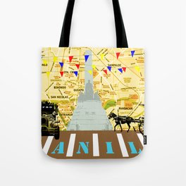 Locals Only - Manila Tote Bag