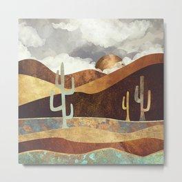 Patina Desert Metal Print