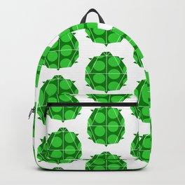 Turtle Pattern Backpack