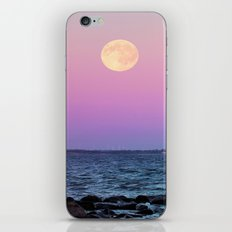 Full Moon on Blue Hour iPhone & iPod Skin