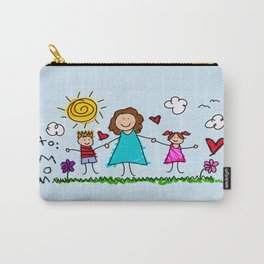 To Mom With Love Carry-All Pouch