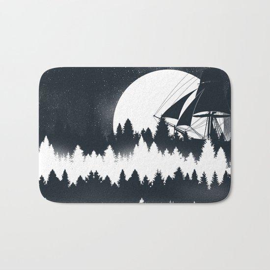 Forest Wave Bath Mat