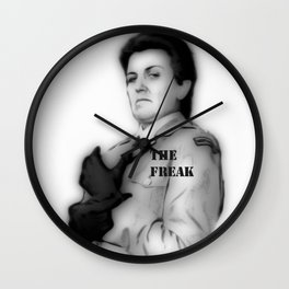 THE FREAK Wall Clock