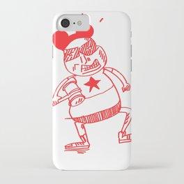 villain in red iPhone Case