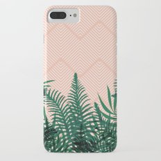 Tropical Ferns on Pink #society6 #decor #buyart Slim Case iPhone 7 Plus