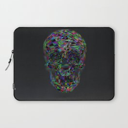 Skull Low-Poly Color Laptop Sleeve