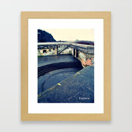 Explore History Framed Art Print