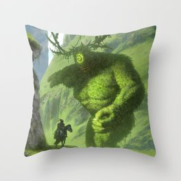 dude is this yours, I think you've dropped it back over there Throw Pillow
