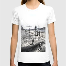 Fishermen And Cats Istanbul T-shirt