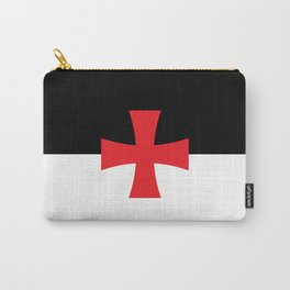 Knights Templar Flag - High Quality Carry-All Pouch