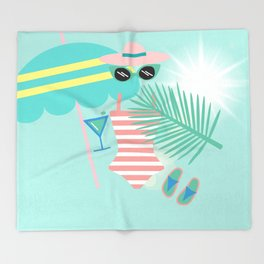 Palm Springs Ready Throw Blanket