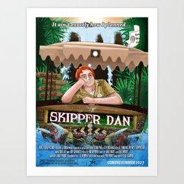 Skipper Dan Art Print