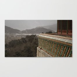 A View to a Hill Canvas Print