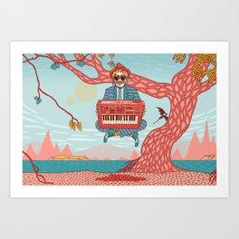 Dungeon Master Art Print