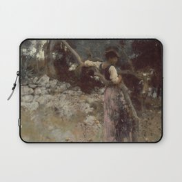 John Singer Sargent - A Capriote Laptop Sleeve