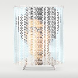 The IT Crowd Shower Curtain
