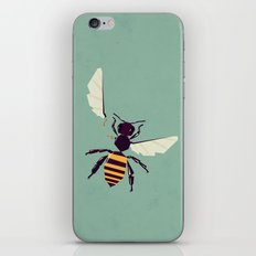 H is for honey bee  iPhone & iPod Skin