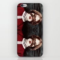 third eye iPhone & iPod Skins featuring Third Eye by elle moss