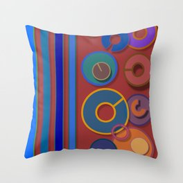 Abstract #54 Throw Pillow