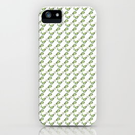 Music, Instrument, Guitare, green, pattern, Drawing, BebiCervin iPhone Case