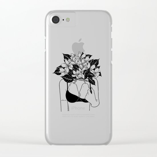 Sweet Pair Clear iPhone Case