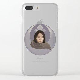 Jyn Clear iPhone Case