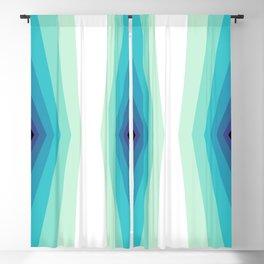 70s 80s Retro Colors Palette Blue 2 Blackout Curtain
