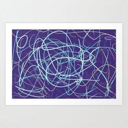 Cold Frustration Art Print