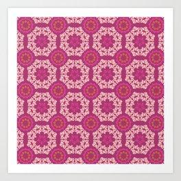 Moroccan Textured Tile Art Print