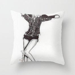 Cameo 2 Throw Pillow