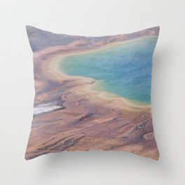 Yellowstone National Park  Panorama Number one  Throw Pillow