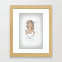 Being Human - Annie Framed Art Print