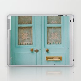 Mint Door Laptop & iPad Skin