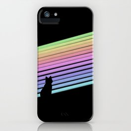 Rainbow Trails iPhone Case