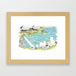 Nha Trang Framed Art Print
