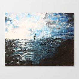 Water Ski Canvas Print