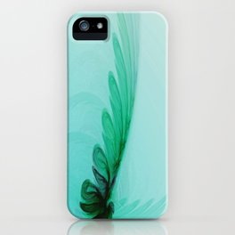 With Brave Wings She Flies iPhone Case