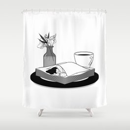 Nap Queen Shower Curtain