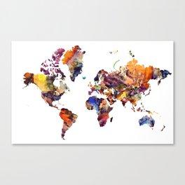 LCN's World Canvas Print