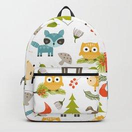 Woodland Animals Backpack