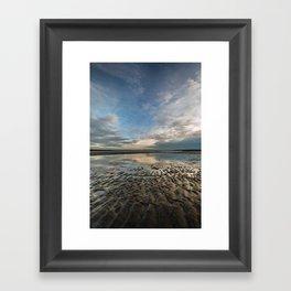 Sand Ripples  Framed Art Print