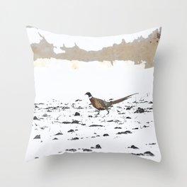 Ring-necked Pheasant 3 Throw Pillow