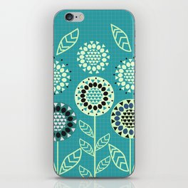 Floral romance iPhone Skin