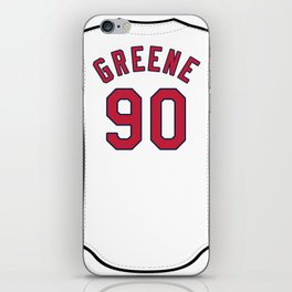 Conner Greene Jersey iPhone Skin