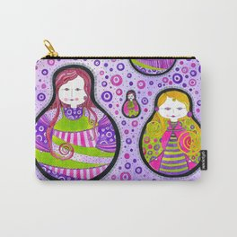 Matryoshka#9 Carry-All Pouch